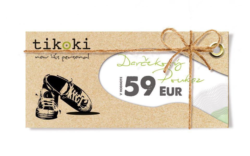 sneakers Gift voucher tikoki