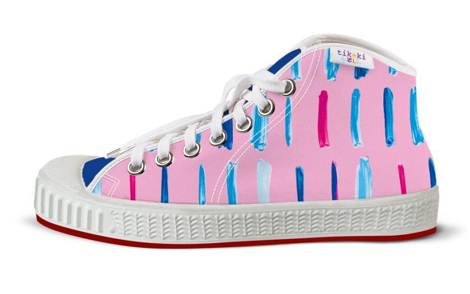 tenisky Pop line pink tikoki