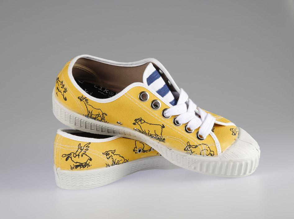 tenisky topanky pánske dámske bobo yellow tikoki