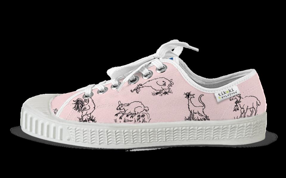 sneakers Bobo light pink tikoki