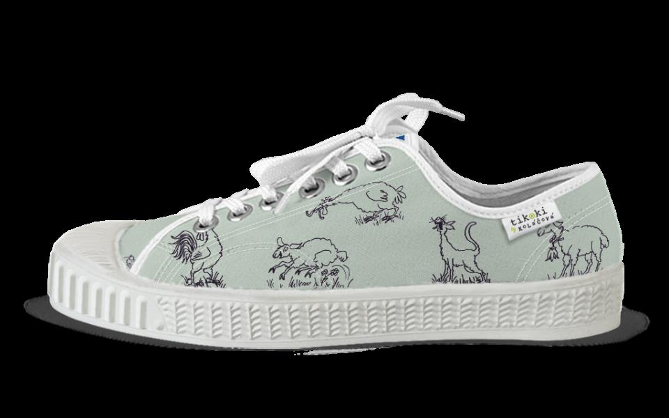 sneakers Bobo silver grey tikoki