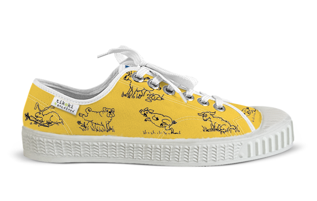 sneakers Bobo yellow tikoki